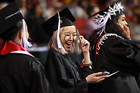 June 11th 2017 - The Seattle University undergraduate commencement ceremony at Key Arena.