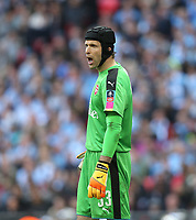 Arsenal's Petr Cech<br /> <br /> Photographer Rob Newell/CameraSport<br /> <br /> The Emirates FA Cup Semi-Final - Arsenal v Manchester City - Sunday 23rd April 2017 - Wembley Stadium - London<br />  <br /> World Copyright &copy; 2017 CameraSport. All rights reserved. 43 Linden Ave. Countesthorpe. Leicester. England. LE8 5PG - Tel: +44 (0) 116 277 4147 - admin@camerasport.com - www.camerasport.com