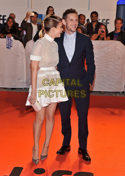 12 September 2017 - Toronto, Ontario Canada - Kate Mara, Jamie Bell. 2017 Toronto International Film Festival - &quot;Film Stars Don't Die In Liverpool&quot; Premiere held at Roy Thomson Hall. <br /> CAP/ADM/BPC<br /> &copy;BPC/ADM/Capital Pictures