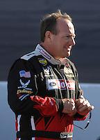 Apr 19, 2007; Avondale, AZ, USA; Nascar Nextel Cup Series driver Ken Schrader (21) during qualifying for the Subway Fresh Fit 500 at Phoenix International Raceway. Mandatory Credit: Mark J. Rebilas
