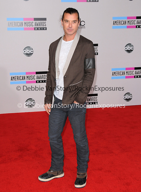 Gavin Rossdale at The 2010 American Music  Awards held at Nokia Theatre L.A. Live in Los Angeles, California on November 21,2010                                                                   Copyright 2010  DVS / Hollywood Press Agency