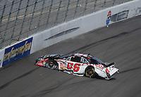 Mar 1, 2008; Las Vegas, NV, USA; Nascar Nationwide Series driver Steve Wallace crashes during the Sams Town 300 at the Las Vegas Motor Speedway. Mandatory Credit: Mark J. Rebilas-US PRESSWIRE