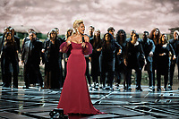 Oscar&reg; nominee Mary J. Blige performs during the live ABC telecast of the 90th Oscars&reg; at the Dolby&reg; Theatre in Hollywood, CA on Sunday, March 4, 2018.<br /> *Editorial Use Only*<br /> CAP/PLF/AMPAS<br /> Supplied by Capital Pictures
