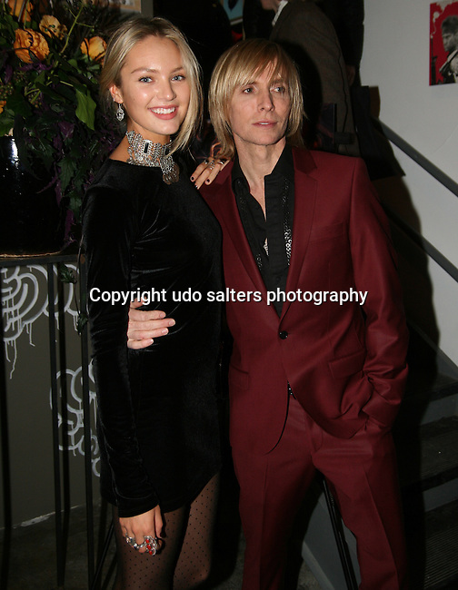 Victoria Secret Model Candice Swanepoel and Designer Marc Bouwer attend MARC BOUWER's EXCLUSIVE SCREENING of the FW2010 film starring CANDICE SWANEPOEL at the Leo Kesting Gallery, New York- -February 18, 2010