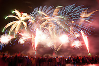 Fireworks. Photo: Patrick Tollgren Lazarov / Scouterna