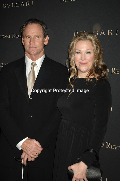 Catherine O'Hara and husband Bo Welch..arriving at The 2006 National Board of Review of Motion..Pictures Awards on January 9, 2007 at Cipriani 42nd Street. ..The event was sponsored by Bulgari...Robin Platzer, Twin Images