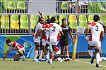 Japan team group (JPN), <br /> AUGUST 9, 2016 - / Rugby Sevens : <br /> Men's Pool Round <br /> between New Zeland 12-14 Japan <br /> at Deodoro Stadium <br /> during the Rio 2016 Olympic Games in Rio de Janeiro, Brazil. <br /> (Photo by Yusuke Nakanishi/AFLO SPORT)