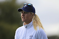 Anna Nordqvist Team Europe on the 7th during Day 1 Fourball at the Solheim Cup 2019, Gleneagles Golf CLub, Auchterarder, Perthshire, Scotland. 13/09/2019.<br /> Picture Thos Caffrey / Golffile.ie<br /> <br /> All photo usage must carry mandatory copyright credit (© Golffile | Thos Caffrey)