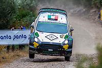 BERTELLI Lorenzo / SCATTOLIN Simone (Ford Fiesta RS WRC) during the World Rally Car RACC Catalunya Costa Dourada 2016 / Rally Spain, in Catalunya, Spain. October 15, 2016. (ALTERPHOTOS/Rodrigo Jimenez) NORTEPHOTO.COM