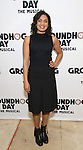 """Barrett Doss attends the """"Groundhog Day'' press day at The New 42nd Street Studios on February 2, 2017 in New York City."""