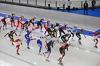 SCHAATSEN: BERLIJN: Sportforum Berlin, 07-12-2014, ISU World Cup, Mass Start Ladies, Irene Schouten (#2), ©foto Martin de Jong