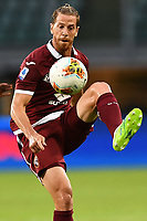 Cristian Ansaldi of Torino FC during the Serie A football match between Torino FC and SS Lazio at stadio Olimpico in Turin ( Italy ), June 30th, 2020. Play resumes behind closed doors following the outbreak of the coronavirus disease. <br /> Photo Image Sport / Insidefoto