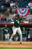 Daytona Tortugas left fielder Reydel Medina (24) at bat during a game against the Florida Fire Frogs on April 6, 2017 at Osceola County Stadium in Kissimmee, Florida.  Daytona defeated Florida 3-1.  (Mike Janes/Four Seam Images)
