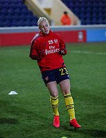 13th February 2020; Deva Stadium, Chester, Cheshire, England; Womens Super League Football, Liverpool Womens versus Arsenal Womens;  Beth Mead of Arsenal Women warms up pre match