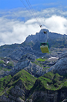 Swiss alps amazing views cable car