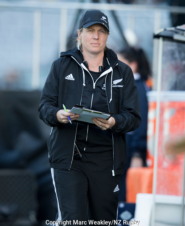 Lauren Cournane. New Zealand Black Ferns beat Australia 67-3.  22 October 2016, Eden Park, Auckland, New Zealand. Photo: Marc Weakley/NZ Rugby
