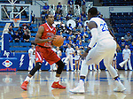 January 11, 2017:  Fresno State guard, Deshon Taylor #21, in action during the NCAA basketball game between the Fresno State Bulldogs and the Air Force Academy Falcons, Clune Arena, U.S. Air Force Academy, Colorado Springs, Colorado.  Air Force defeats Fresno State 81-72.