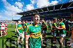 Cian Gammell Kerry players celebrate after defeating Derry in the All-Ireland Minor Footballl Final in Croke Park on Sunday.