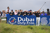 Thorbjorn Olesen (DEN) tees off the 18th tee during Saturday's Round 3 of the Dubai Duty Free Irish Open 2019, held at Lahinch Golf Club, Lahinch, Ireland. 6th July 2019.<br /> Picture: Eoin Clarke | Golffile<br /> <br /> <br /> All photos usage must carry mandatory copyright credit (© Golffile | Eoin Clarke)