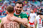 Jack Sherwood, Kerry celebrates after the All Ireland Senior Football Semi Final between Kerry and Tyrone at Croke Park, Dublin on Sunday.
