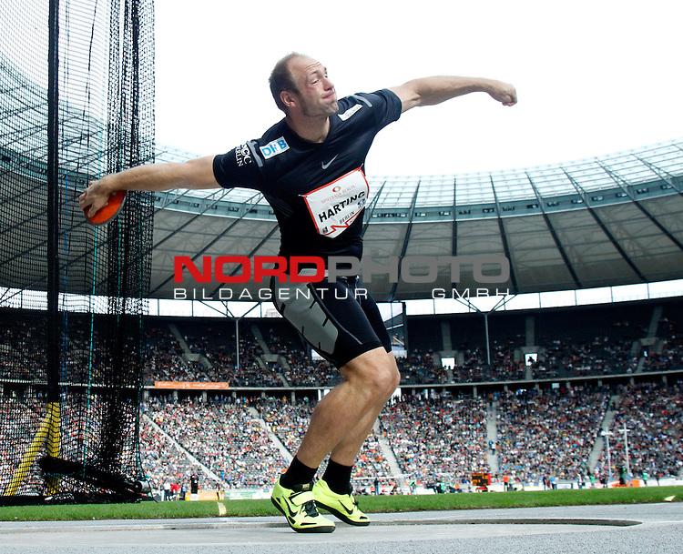 02.09.2012, GER, Berlin, ISTAF, Maenner, Discus,<br /> im Bild  Robert Harting<br /> <br />               <br /> Foto &not;&copy; nph /  Schulz
