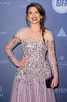 Hayley Atwell<br /> arriving for the British Independent Film Awards 2017 at Old Billingsgate, London<br /> <br /> <br /> &copy;Ash Knotek  D3359  10/12/2017
