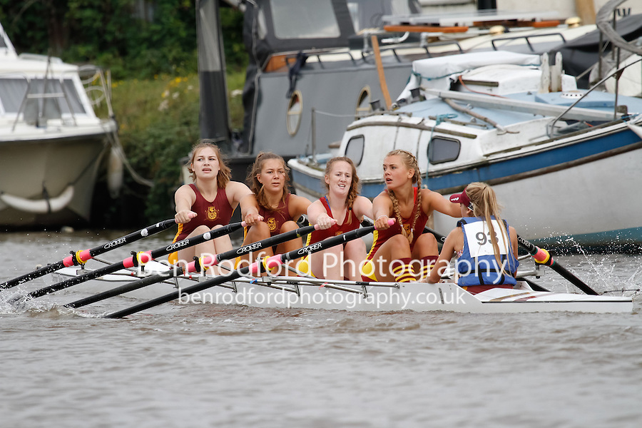 W.J15A.4x+  Final  (97) Liverpool Victoria vs (99) Staines<br /> <br /> Saturday - Gloucester Regatta 2016<br /> <br /> To purchase this photo, or to see pricing information for Prints and Downloads, click the blue 'Add to Cart' button at the top-right of the page.