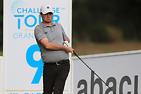 Cormac Sharvin (NIR) on the 9th tee during Round 1 of the Challenge Tour Grand Final 2019 at Club de Golf Alcanada, Port d'Alcúdia, Mallorca, Spain on Thursday 7th November 2019.<br /> Picture:  Thos Caffrey / Golffile<br /> <br /> All photo usage must carry mandatory copyright credit (© Golffile | Thos Caffrey)