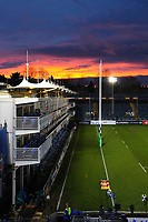 A general view of the Recreation Ground prior to the match. European Rugby Champions Cup match, between Bath Rugby and RC Toulon on December 16, 2017 at the Recreation Ground in Bath, England. Photo by: Patrick Khachfe / Onside Images
