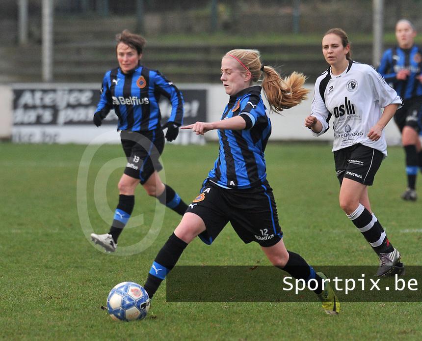 Club Brugge Dames - Eendracht Aalst Dames : Silke Demeyere.foto Joke Vuylsteke / Vrouwenteam.be
