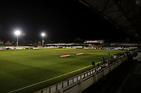 General view of the ground ahead of the match during Chorley vs Fleetwood Town, Emirates FA Cup Football at Victory Park on 6th November 2017