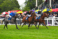 Winner of The DEOS Group Handicap Loving Your Work (14,m) ridden by Kieran O'Neil and trained by Ken Cunningham-Brown  during Evening Racing at Salisbury Racecourse on 11th June 2019