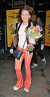 """Bonnie Langford at the """"9 To 5 The Musical"""" theatre cast stage door departures, The Savoy Theatre, The Strand, London, England, UK, on Monday 13th May 2019.<br /> CAP/CAN<br /> ©CAN/Capital Pictures"""