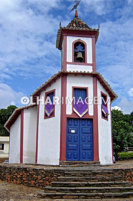 Primeira igreja de Sabara. Minas Gerais. 2008. Foto de Marcia Rebello.