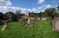 St Aidans church graveyard, Kirkbymoorside, North Yorkshire, England. Sep 2007.