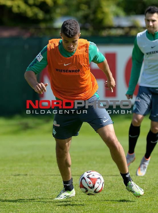 13.05.2015, Trainingsgelaende, Bremen, GER, 1.FBL, Training Werder Bremen, im Bild Franco Di Santo (Bremen #9)<br /> <br /> Foto &copy; nordphoto / Frisch