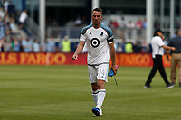 Kansas City, Kansas - June 3, 2017: Sporting Kansas City defeated Minnesota United FC 3-0 in a Major League Soccer (MLS) game at Children's Mercy Park.