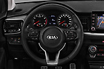 Car pictures of steering wheel view of a 2018 KIA Stonic Sense 5 Door SUV