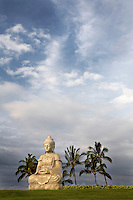 Buddha statue at Waikaloa Hilton on the Big Island