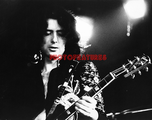 Led Zeppelin  1972 Jimmy Page........
