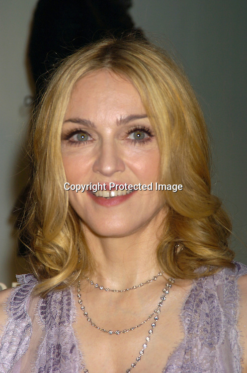 "Madonna ..at a Book party for Madonna's new book ""Lotsa De Casha"" ..on June 7, 2005 at Bergdorf Goodman. ..Photo by Robin Platzer, Twin Images"