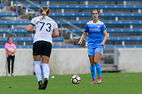 Bridgeview, IL - Sunday June 25, 2017: Katie Naughton during a regular season National Women's Soccer League (NWSL) match between the Chicago Red Stars and Sky Blue FC at Toyota Park. The Red Stars won 2-1.