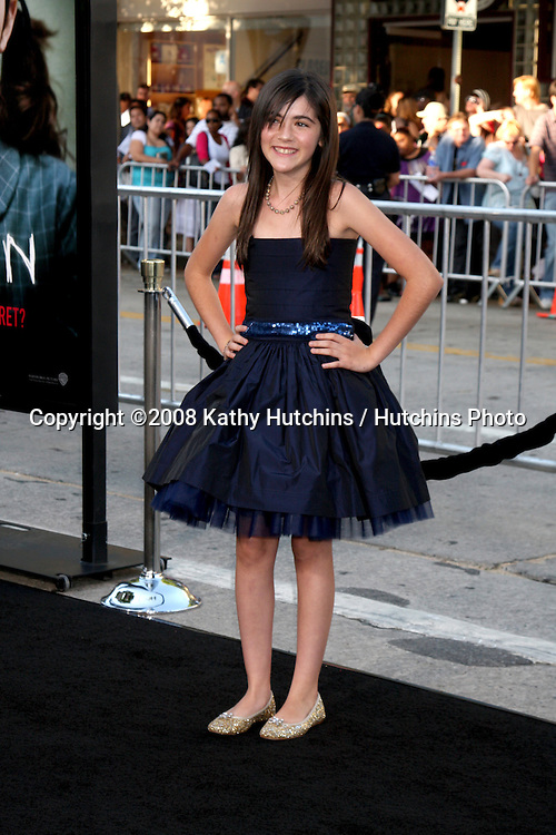 "Isabelle Fuhrman  arriving at the ""Orphan""  LA Premiere at the Mann Village Theater  in Westwood,  CA   on July 21, 2009 .©2008 Kathy Hutchins / Hutchins Photo.."