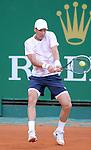 Tomas Berdych (CZE) defeats Dmitry Tursunov (RUS) 7-5, 6-4 at the Monte Carlo Rolex Masters tournament in Monte Carlo, Monaco on April 17, 2014.