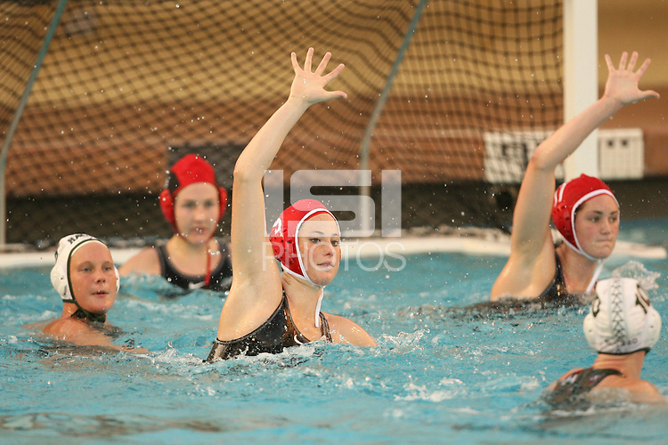 2 February 2007: Kelly Eaton during Stanford's 10-6 win over Hawaii at the Avery Aquatic Center in Stanford, CA.
