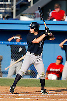 August 16, 2009:  Justin Milo of the Staten Island Yankees during a game at Dwyer Stadium in Batavia, NY.  Staten Island is the Short-Season Class-A affiliate of the New York Yankees.  Photo By Mike Janes/Four Seam Images