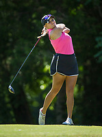 Madison Luitwieler of Katy, Texas plays Wednesday, June 24, 2020, during the first round of the Cooper Communities Northwest Arkansas Charity Classic golf tournament at Scotsdale Golf Course in Bella Vista. Go to nwaonline.com/200625Daily/ to see more photos.<br /> (NWA Democrat-Gazette/Ben Goff)