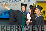 Selfie time for Alison Moses, Marie Conway and Clare Stack (Tralee) graduating from the I T Tralee on Friday.
