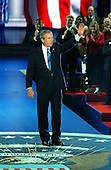New York, NY - September 2, 2004 --  United States President George W. Bush accepts his party's nomination at the 2004 Republican Convention in Madison Square Garden in New York on September 2, 2004.  In his remarks, the President spoke about where he wants to lead the United States for the next four years.  .Credit: Ron Sachs / CNP.(RESTRICTION: No New York Metro or other Newspapers within a 75 mile radius of New York City)