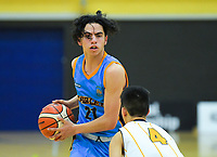 Action from the 2019 Schick AA Boys' Secondary Schools Basketball Premiership National Championship match between Auckland Grammar School and Shirley Boys' High School at the Central Energy Trust Arena in Palmerston North, New Zealand on Monday, 30 September 2019. Photo: Dave Lintott / lintottphoto.co.nz